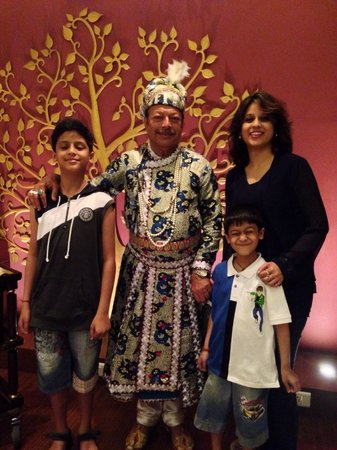 Radisson Blu Agra Taj East Gate: Nawab Sahab the amazing host
