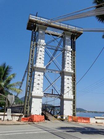 Suspension Bridge: il pilone principale