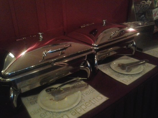 Grand Hotel Central: hot stuf (eggs,...)