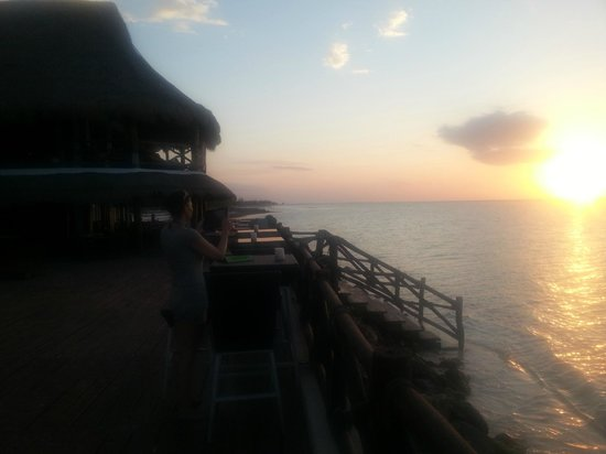 Las Nubes De Holbox: Sonnenuntergang