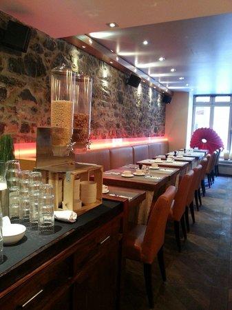 Hotel Le Priori: Petit déjeuner