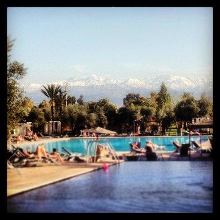 Eden Andalou Hotel Aquapark & Spa: View of the Atlas Mountains
