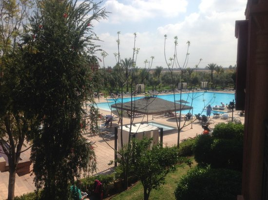 Eden Andalou Hotel Aquapark & Spa: View from room 206
