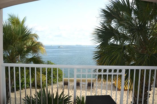 Key West Marriott Beachside Hotel : View from suite balcony.