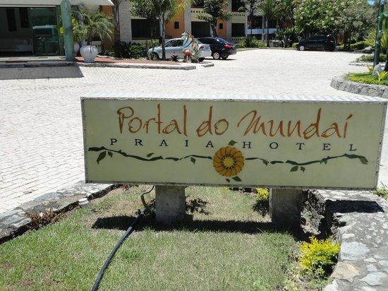 Portal do Mundaí Praia Hotel : Fachada