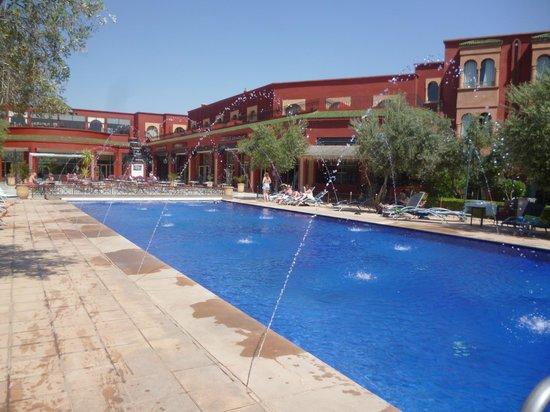 Eden Andalou Hotel Aquapark & Spa: Heated pool at 26 degrees