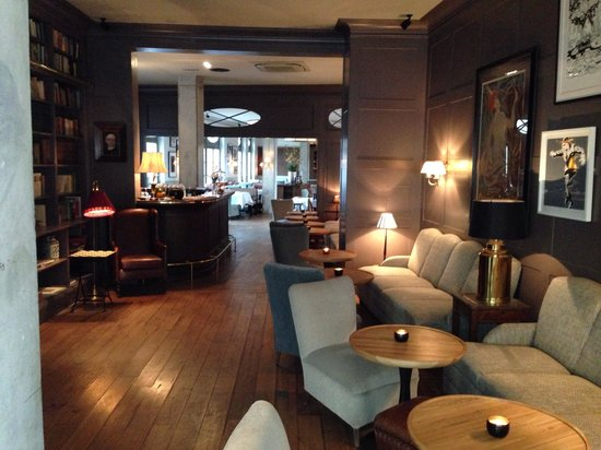 Monbijou Hotel : Sala relax