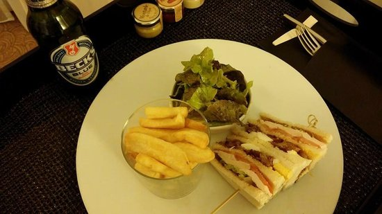 Meliá Luxembourg : Room Service
