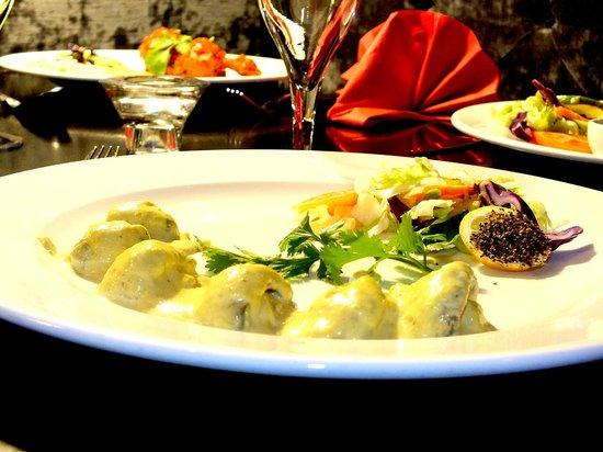 Gurkha Kitchen: Newly Introduced Chef's Special  Mild Creamy ''Garlic Mushroom''