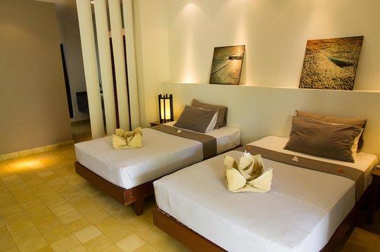Battambang Resort : angenehme Matratzen