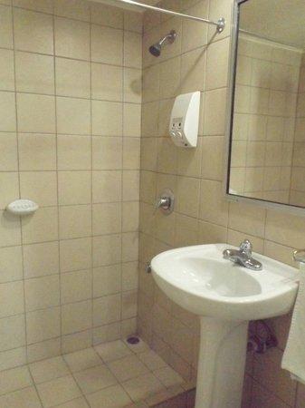 BEST WESTERN Jaco Beach All Inclusive Resort: Salle de bains rénové, douche très grande.