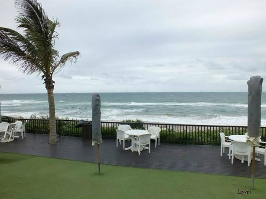 uMhlanga Sands Resort : Beautiful, but not for swimming