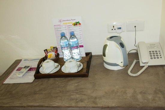 Battambang Resort: Kaffe/Tee/Wasser frei