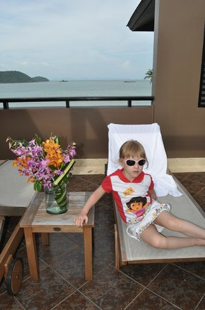 Pullman Phuket Panwa Beach Resort: терасса номера