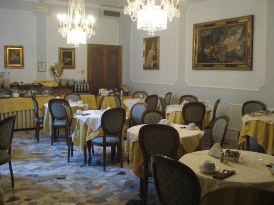 Hotel Silla: Зал для завтраков