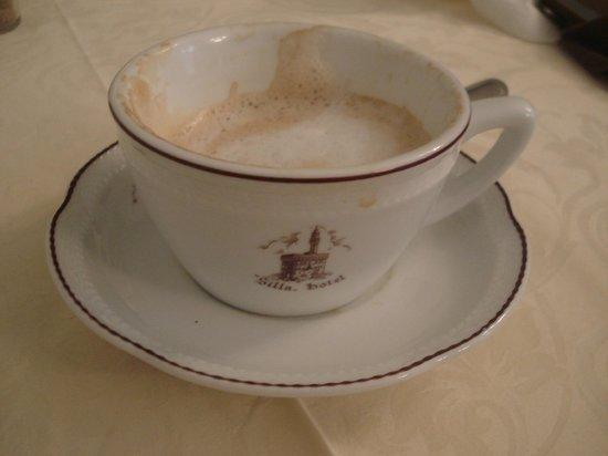 Hotel Silla: Первая утренняя чашка кофе
