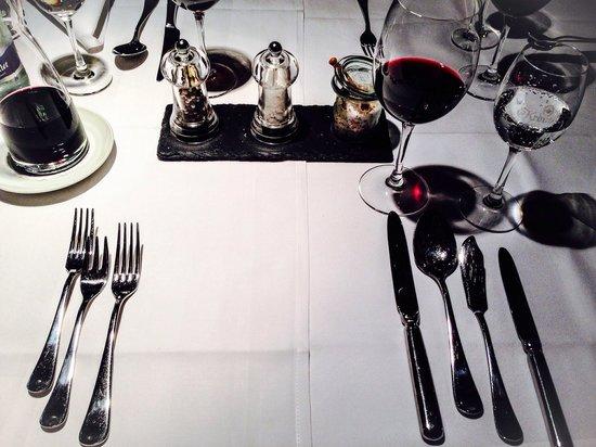 Hotel Restaurant Zur Krone: Tolles Gedeck