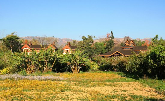 Inle Lake View Resort & Spa : Geländeaussicht