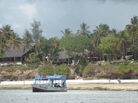 Baobab Beach Resort & Spa : Blick vom Meer