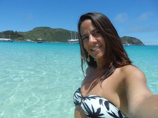 Hotel Praia dos Anjos : Paraíso - passeio de barco