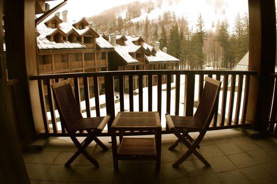 Val di Luce Spa Resort: balcone