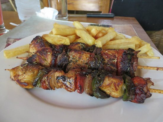 Black Bamboo : Chicken skewers (can't remember the name on the menu)