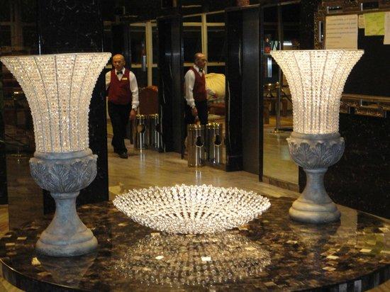 San Marco Hotel : hermosa decoración enla recepción