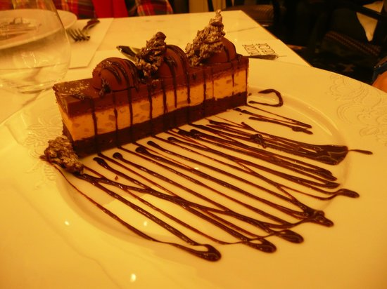 Brasserie Angelique : chocolat cake