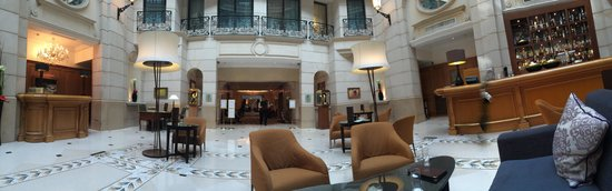 Paris Marriott Champs Elysees Hotel : Lobby