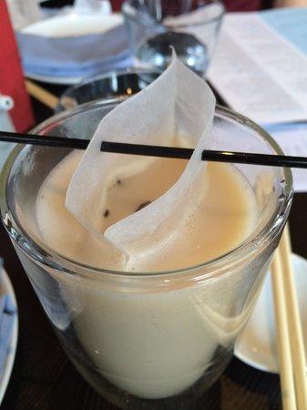 Ping Pong Dim Sum: Lychee Latte Tea