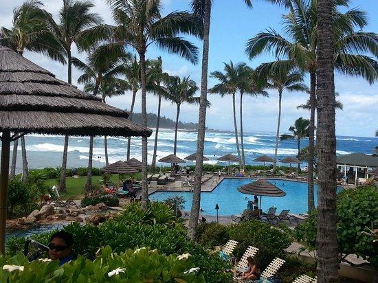 Turtle Bay Resort: Pool area