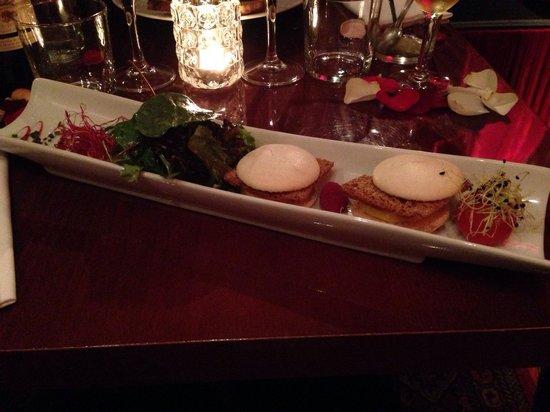 Le K Baroque: Macarons foie gras pain d'épices