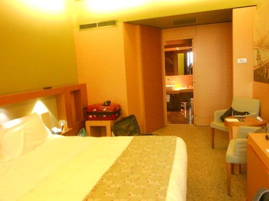 UNA Hotel Napoli: La chambre