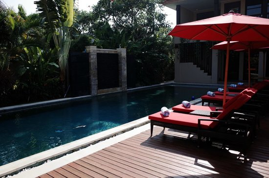 The Residence Seminyak: Our private pool