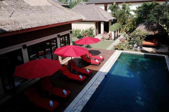 The Residence Seminyak: View from second floor