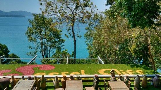 Secret Cliff Resort: Sea view near the hote restaurant