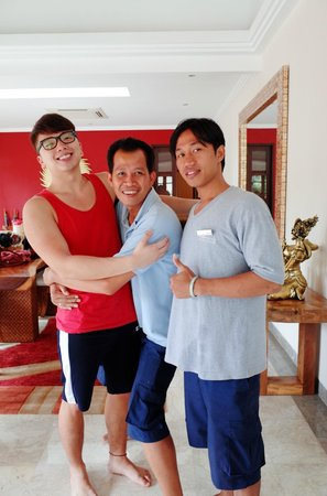 The Residence Seminyak: Another butler, Made, and the housekeeper