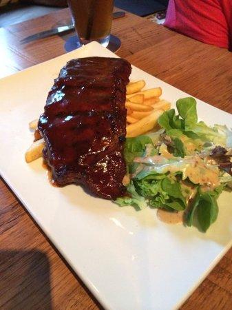 The Brazzo House: BBQ baby pork ribs