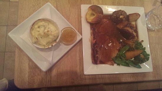 The Den: Roast dinner