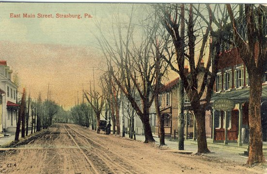 Iron Horse Inn: A view from 1906!