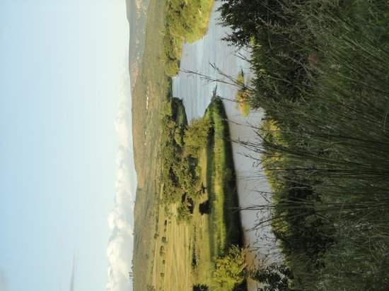 Rorke's Drift Hotel: the view from our room