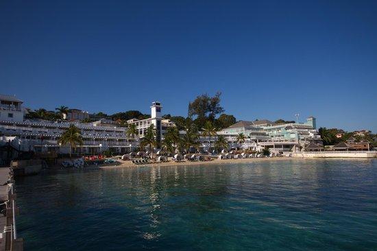 Beaches Ocho Rios Resort & Golf Club : Looking back at the resort