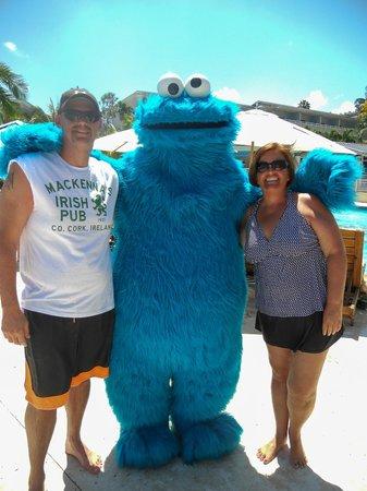 Beaches Ocho Rios Resort & Golf Club : Cookie Monster