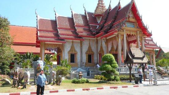 Wat Chalong : beautiful temple