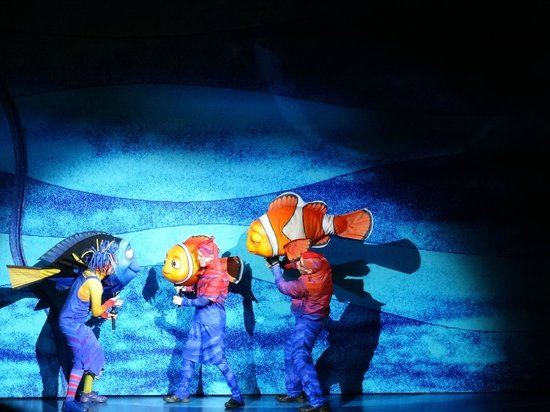 Finding Nemo - The Musical: Nemo- The Musical at Disney's Animal Kingdom