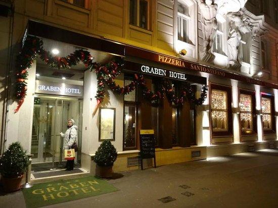Graben Hotel: ingresso Hotel Graben