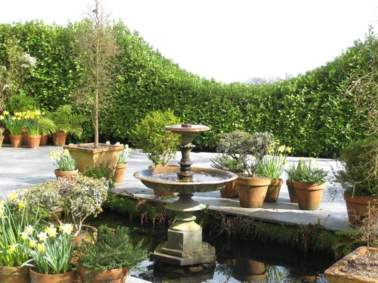 The Lost Gardens of Heligan: View from the Northern Summerhouse