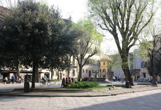 Hotel Palazzo Guadagni from Piazza S. Spirito