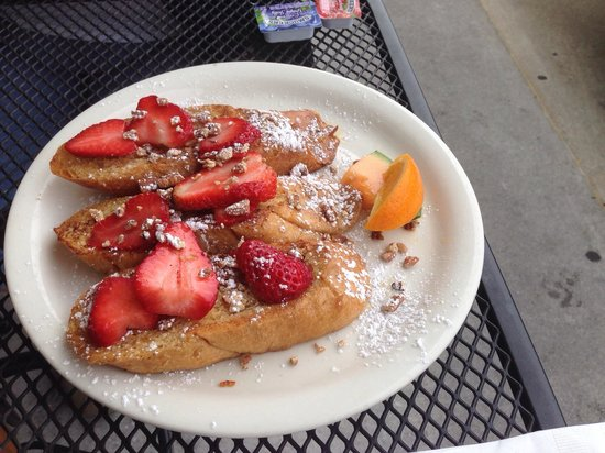 Andy's Flour Power: French toast! Great!