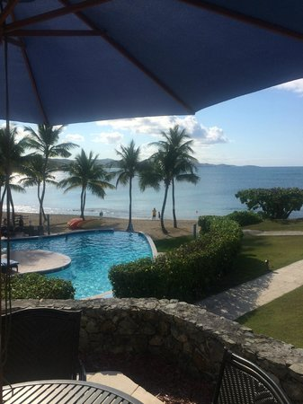 The Buccaneer St Croix: The Pool and Beach